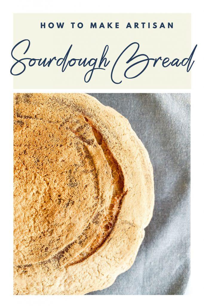 Sourdough Bread Pinterest Pin